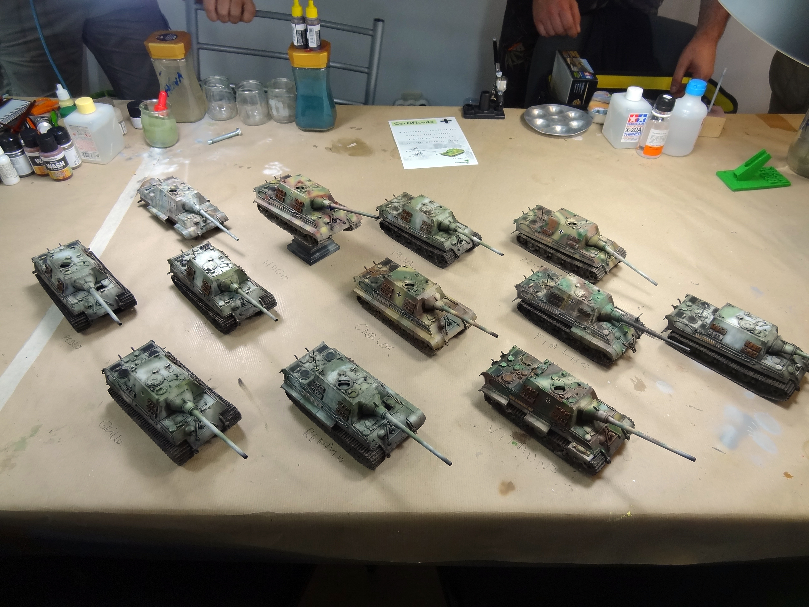 GREEN MODELS MASTERCLASS, JULY 4-5TH. JAGDTIGER