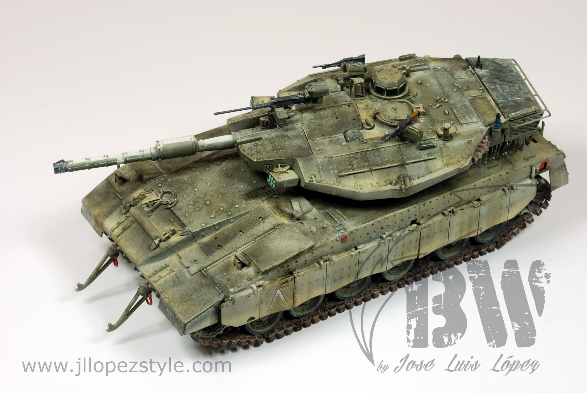 Merkava Mk III from Gaso.Line Quarter kits