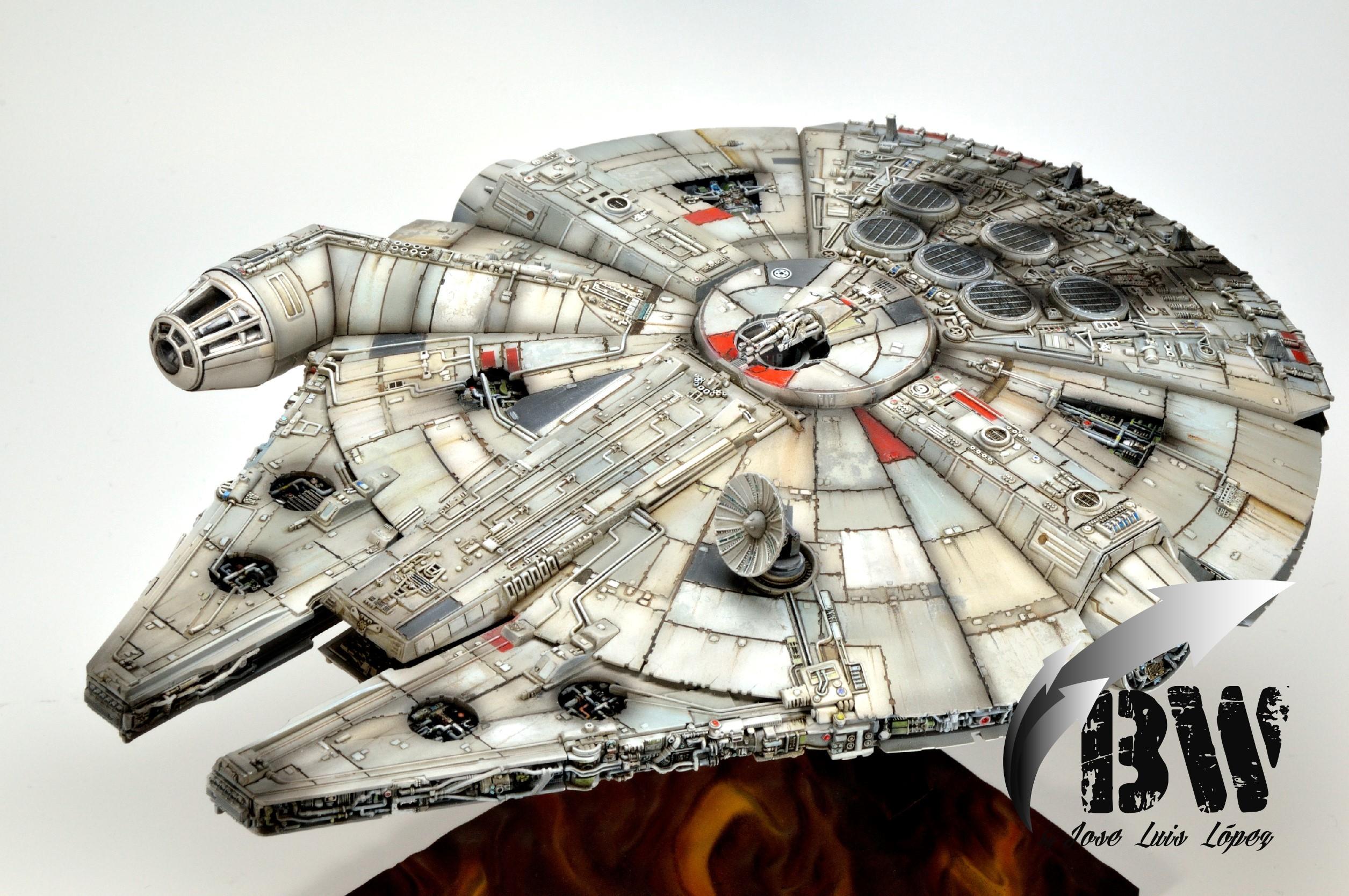 Millenium Falcon 1/144